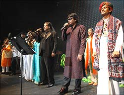 AR Rahman in concert in New York