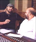 Sameer with Himesh Reshammiya