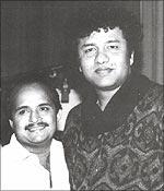 Sameer with Anu Malik