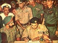 India wins 1971 war