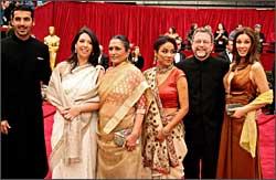 John Abraham, Devyani Saltzman, Deepa Mehta, Seema Biswas, David Hamilton and Lisa Ray.