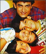 Aamir in Hum Hai Rahi Pyaar Ke