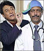 Danny Denzongpa and Nana Patekar in Hattrick