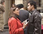 Mira Nair with Kal Penn