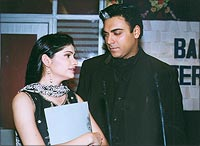 Prachi Desai and Ram Kapoor