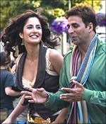 Katrina Kaif and Akshay Kumar in Namastey London