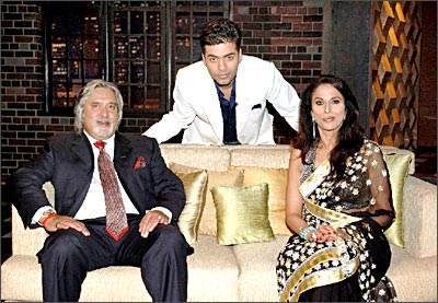 Vijay Mallya has Koffee with Shobhaa De