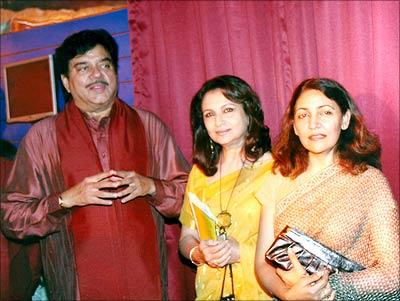 Shatrughan Sinha, Sharmila Tagore, Deepti Naval at a Mumbai event honouring master director Satyajit Ray