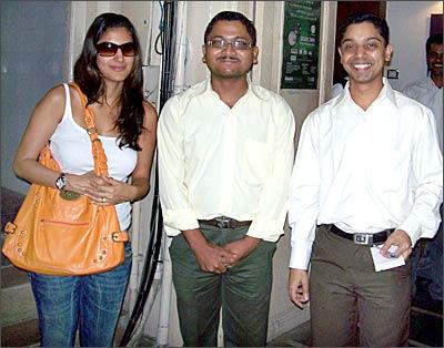 Perizaad Kolah Marshall, Sachin Jagdale and Sandeep Parab