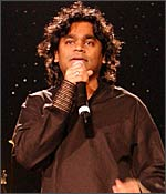 AR Rahman, in concert