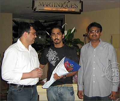 Altaff Shariff, Siddharth and Praveen