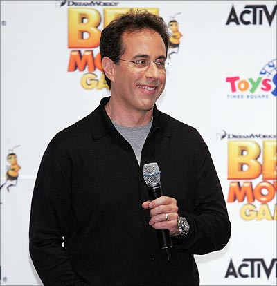 Jerry Seinfeld. Jerry Seinfeld, 53, sounds as