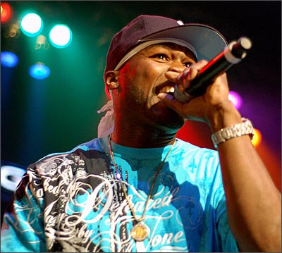 50 Cent, live in concert