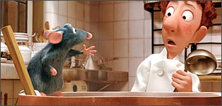 A still from Ratatouille