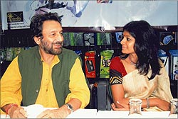 Shekhar Kapur and Nandita Das