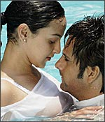 Esha Deol and Fardeen Khan in Darling
