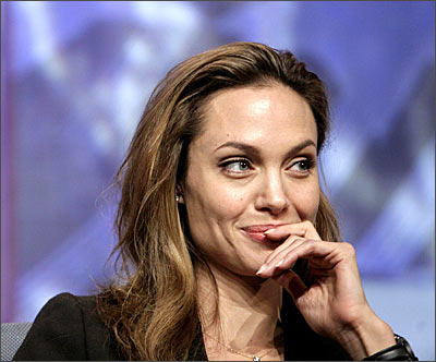 Actress Angelina Jolie [ Images ] has further fuelled her pregnancy reports, ...