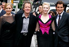 Abbie Cornish, Geoffrey Rush, Cate Blanchett, and Clive Owen