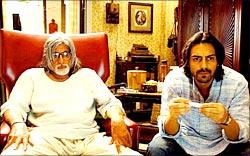 Amitabh Bachchan and Arjun Rampal