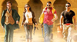 A still from Tashan