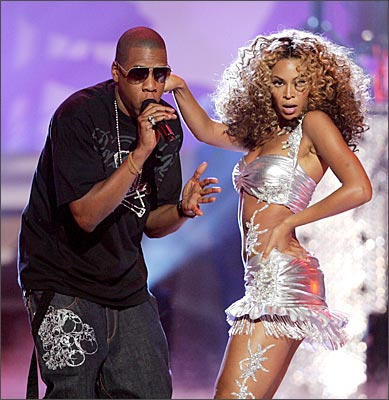 jay z and beyonce wedding pictures. American Ramp;B singer Beyonce