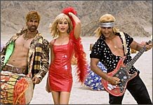Akshay Kumar, Kareena Kapoor and Saif Ali Khan in Tashan