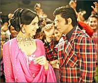 A still from Om Shanti Om