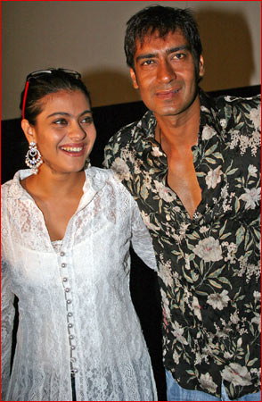 Ajay Devgn and Kajol