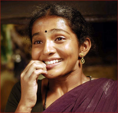 Parvathy in a scene from Poo