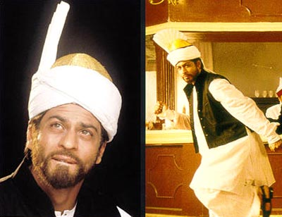 Rediff Com The Different Faces Of Shah Rukh Khan