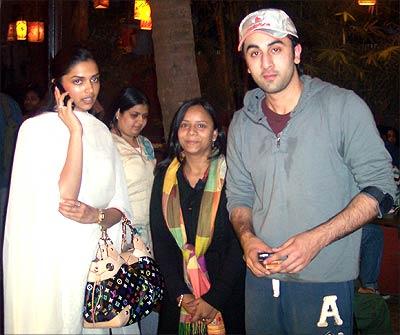 Ranbir Deepika Pics