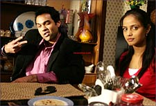 Abhay Deol and Neetu Chandra