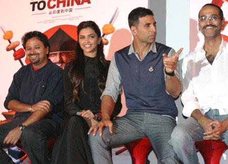 Nikhil Advani, Deepika Padukone, Akshay Kumar and Rohan Sippy