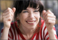 Sally Hawkins from Happy Go Lucky