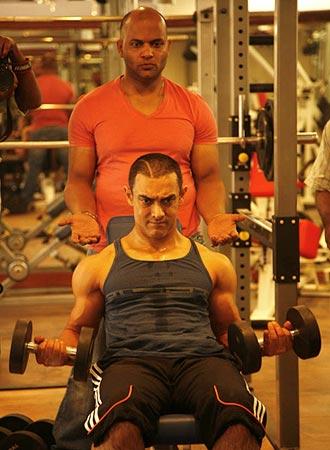 Aamir Khan and Satyajit Chourasia