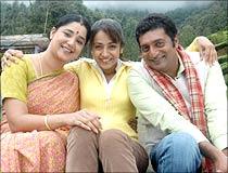 A scene from Abhiyum Naanum