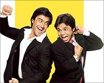 Aashish Choudhary and Rajpal Yadav