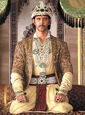 Rediff Com Dressing Up Jodha Akbar Aishwarya rai , hrithik roshan , kulbhushan kharbanda , et al. rediff com