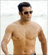 Salman Khan in a still from Partner