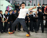 Aamir Khan in a still from Taare Zameen Par