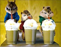 A still from Alvin And The Chipmunks
