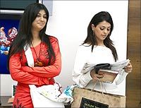 Ayesha Takia and Anjana Sukhani in Sunday