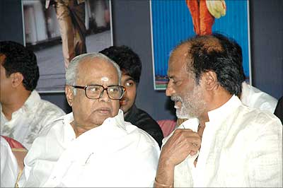 K Balachander and Rajinikanth