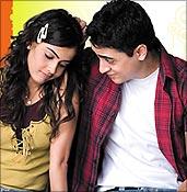 Genelia D'Souza and Imran Khan