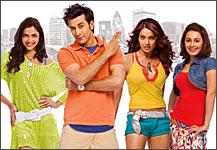 Deepika Padukone, Ranbir Kapoor, Bipasha Basu and Minissha Lamba