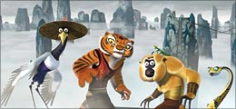 A still from Kung Fu Panda