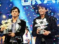 Rahul Vaidya and Abhijeet Sawant