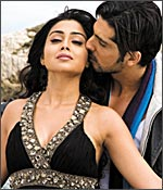 Shriya Saran and Zayed Khan in Mission Istanbul