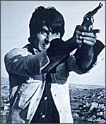 Amitabh in a still from Sholay