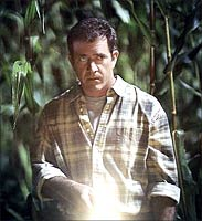 Mel Gibson in a still from Signs
